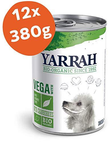 YARRAH Bio hondenvoer Vega, graanvrij met cranberries 380 g, 12-pack (12 x 380 g)