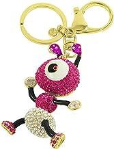 Crystal keychain Pink