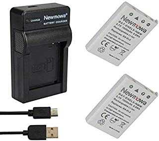 Newmowa EN-EL5 Batería (2-Pack) y Kit Cargador Micro USB portátil para Nikon EN-EL5 Nikon Coolpix P530 P520 P510 P100 P500 P5100 P5000 P6000 P90 P80