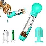 DryMartine® Hund Trinkflasche Haustier Wasserflasche 500ml,Tragbare Haustier Katze Travel Trinkflasche Hundetrinkflasche Wasserspender für Unterwegs