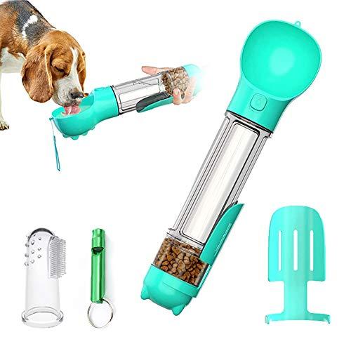 DryMartine Tragbare Haustier Wasserflasche Hund Katze Trinkflasche,Pet Travel Water Drink Flasche (500ml, Blau)