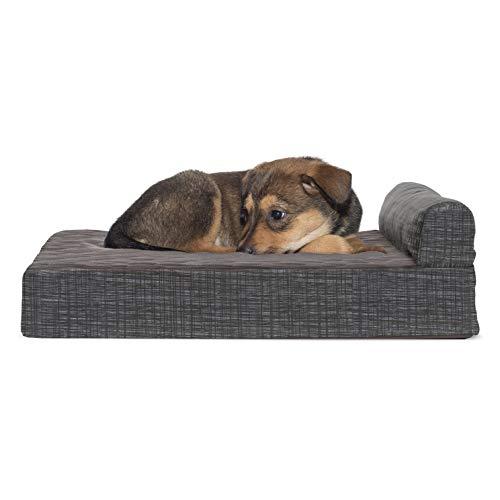 furhaven Deluxe Orthopädische Recamiere Hund Couch, PET Bett für Katzen und Hunde