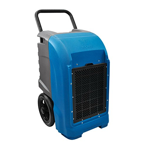 XPOWER XD-125 76 Pint Industrial Commercial Dehumidifier with Automatic Purge Pump and Drainage Hose