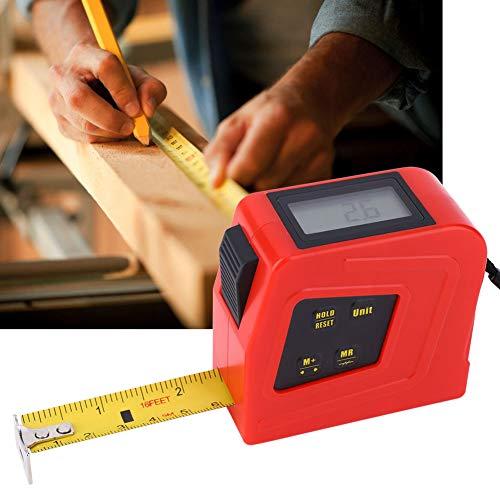 Metro de cinta, ángulo métrico, regla de medición 0 ~ 40 °C, ABS y acero, 5 m, para herramientas domésticas