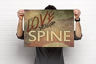 Feel Better, Heal Better Chiropractic Art, 18'x24' Poster, Chiropractic Art, Clinic Decor by Clinic Artwork