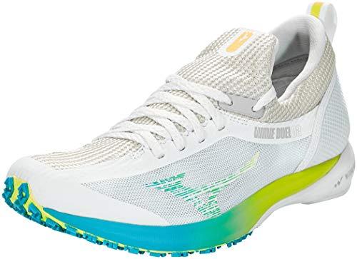 Mizuno Wave Duel 2, Zapatillas para Carreras de montaña para Mujer, Ncloud/Syellow/Scubablue, 40 EU