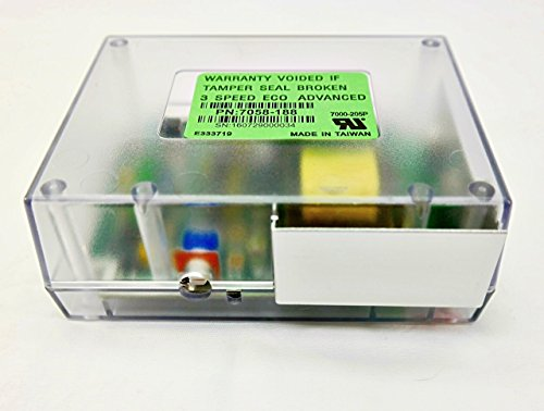 Ecochoice Pellet Stove Control Box - 3 Speed (SRV7058-188)
