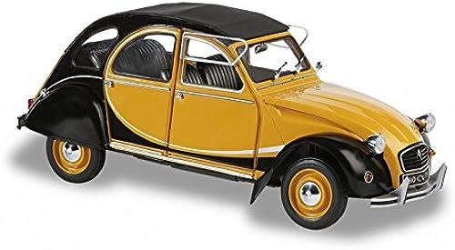 Dickie-Schuco 421183510 - Solido - Citroen 2 CV -1982 1 18 Charleston, gelb   Schwarz