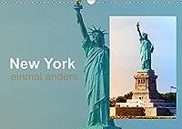 New York - einmal anders (Wandkalender 2022 DIN A3 quer): Ein aussergewoehnlich gestaltetet mit Bildern der Megametropole (Monatskalender, 14 Seiten )