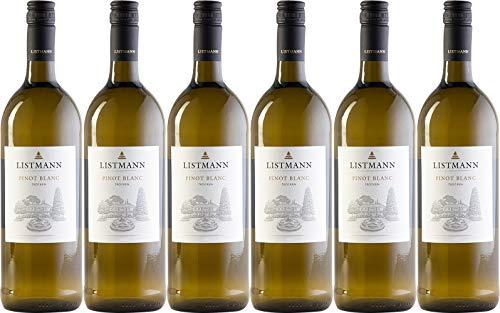 Listmann Pinot Blanc 1L 2019 Trocken (6 x 1.0 l)