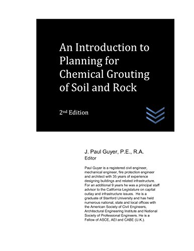 An Introduction to Planning for Chemical Grouting of Soil and Rock