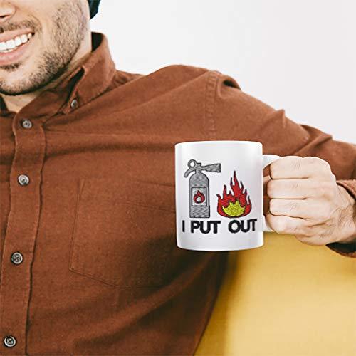 Custom Coffee Mug 11 Ounces Fire Extinguisher B Ceramic Tea Cup Design Only
