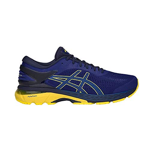 ASICS Performance Gel-Kayano 25 1011A019-401 Herren-Laufschuhe Blue/Lemon Gr. 43,5 (US 9,5)