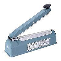 シール機、包装シーラー、インパルスシーラー手動PPフィルム用軽量耐熱ハンドル家庭用倉庫用バッグ(US standard 110V)
