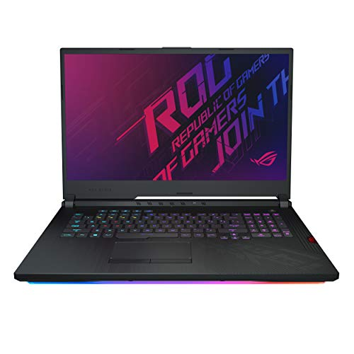 "ASUS ROG Strix Hero III Gaming Laptop 17.3"" Type FHD NVIDIA GeForce RTX 2070 Intel Core i7-9750H 16GB DDR4 512GB PCIe NVMe SSD Per-Key RGB KB Windows 10 Pro Model G731GW-XB74"