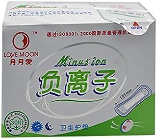 KYK 10 packs sanitary pads sanitary pads female health love moon sanitary napkins female negative ion sanitary pads panty liner pads (Color : 10 pack)