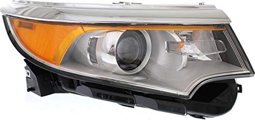 Garage-Pro Headlight Compatible with FORD EDGE 2011-2014 RH Assembly Halogen SE/SEL/Limited Models