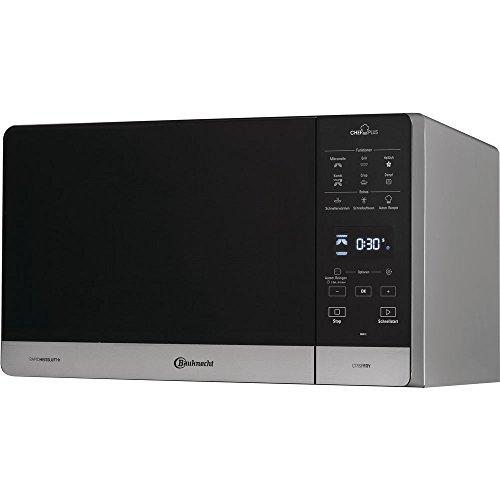 Bauknecht, MW 49 SL, forno a microonde 5 in 1, con grill, aria calda e friggitrice ad aria calda Utilizzabile in forno a microonde. multicolore