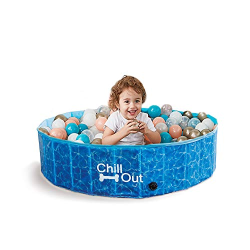 All for Paws 8002 Chill Out Splash & Fun Piscine pour Chien 160 cm