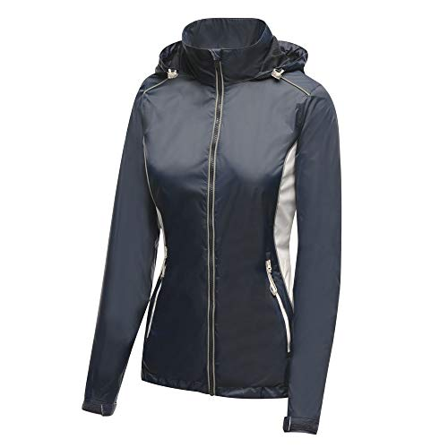Regatta Damen Women's Moscow Shell Jacke, Blau (Marineblau/Weiß), 12