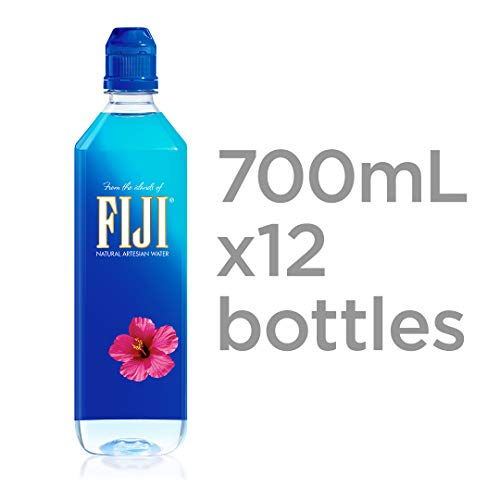 FIJI Natural Artesian Water, 23.7 Fl Oz (Packaging May Vary)