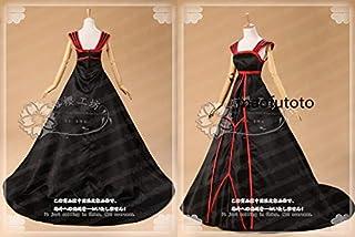 コスプレ衣装 Fate/Zero アイリスフィール 黒化版 ドレス ワンピース 礼服