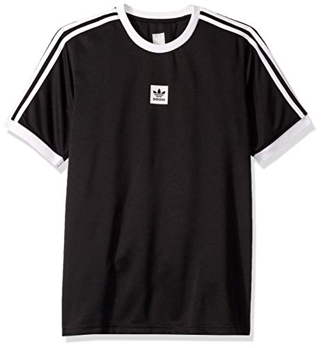 adidas Originals Men's Skate Club Jersey, black, X-Small