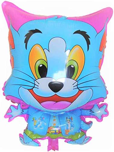 SauParty XL Helium Folienballon Tom und Jerry Katze Kätzchen Pink Kater Spiele Geschenk