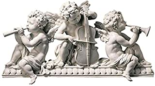 Design Toscano Angelic Notes Sculptural Wall Pediment