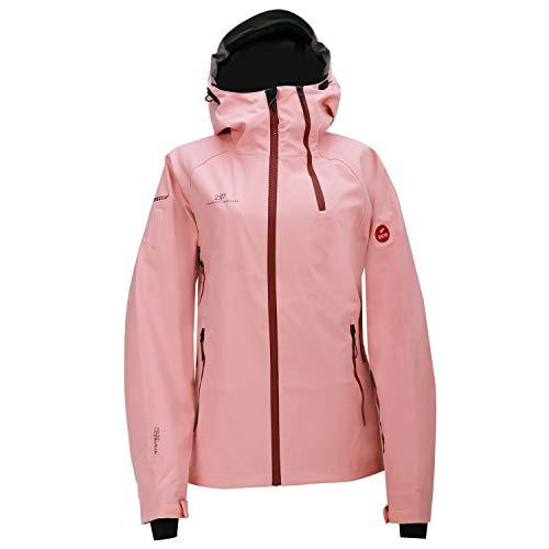 2117 of Sweden Damen Women's Krama Eco 3L Jacket Skijacke Beige/Rosa/Rot 42