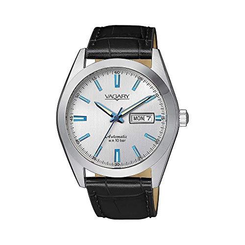 orologio solo tempo uomo Vagary By Citizen Gear Matic classico cod. IX3-211-10