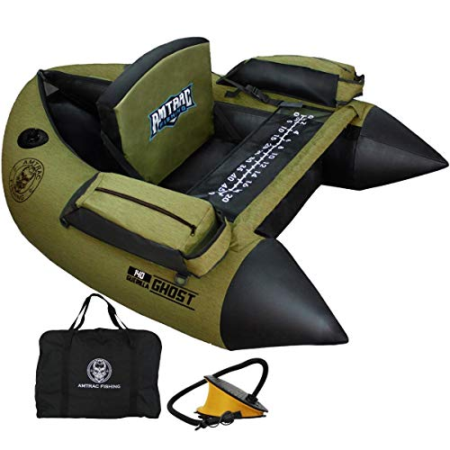 Belly boat Float Tube Ghost 140 Amtrac Fishing – Guerilla Camo