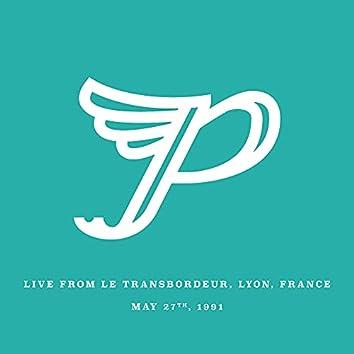 Live from Le Transbordeur, Lyon, France. May 27th, 1991