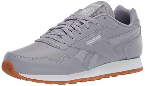 Reebok Women's Classic Harman Run Sneaker, Cool Shadow/White/Gum, 5 M US