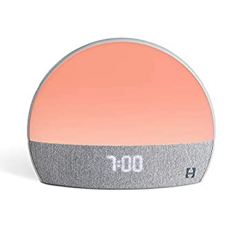 Hatch Restore - Sound Machine Smart Light Personal Sleep Routine Bedside Reading Light Wind Down Content and Sunrise Alarm Clock for Gentle Wake Up