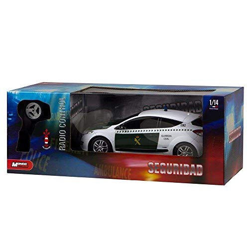 Mondo-63331 Coche Radio Control Guradia Civil 1:24, Multicolor (63331)
