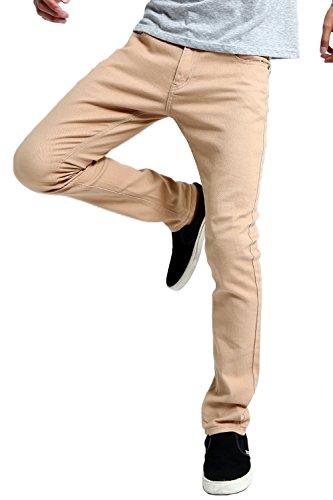 [インプローブス] インプローブス チノパン ストレッチ スリム スキニー カラーパンツ メンズ ベージュ XL サイズ 96560 日本 カジュアルパンツ (日本サイズXL相当)