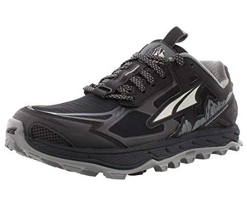 ALTRA Women's AL0A4QTX Lone Peak 4.5 Trail Running Shoe, Black - 10.5 M US