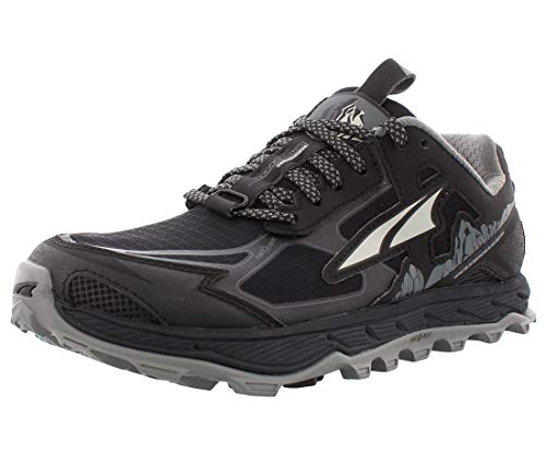 ALTRA Women's AL0A4QTX Lone Peak 4.5 Trail Running Shoe, Black - 9 M US