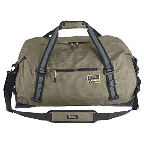 Eagle Creek National Geographic Adventure Duffel Bag, Mineral Green, 60L