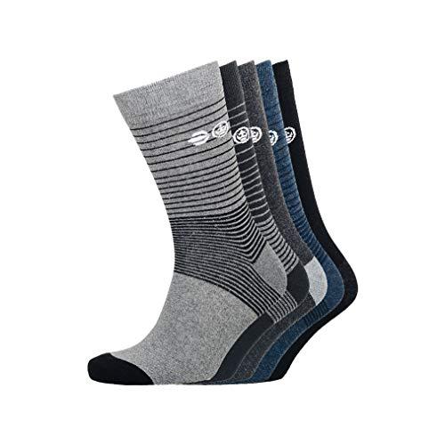 CrossHatch Herren Barnby Socken, Sortiert, Einheitsgröße