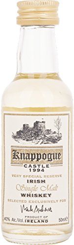 Knappogue Castle Very Special Reserve Irish Single Malt 1994 Whiskey (3 x 0.05 l)