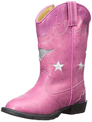 Child Pink Cowboy Boots