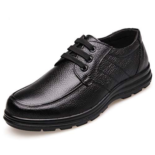 Männer Lederschuhe Schuhe rutschfeste Dicke Sohle Mode männliche Loafers