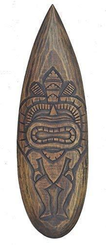 Tiki Figura Tabla de Surf 60cm Im Hawai Maui Style Tabla de Surf Letrero de Madera Isla de Pascua Kauai