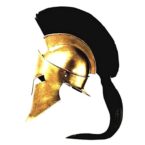 King Spartan 300 Movie Helmet (King Leonidas)+free helmet stand by ethnic roots