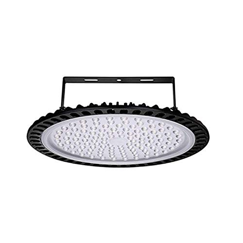 500W UFO LED High Bay Light,Bellanny 50000Lumen,Easy to Install,Dust Proof,IP65 Waterproof,Slim Warehouse Low Bay Lighting for Shed Garage Workshop Gym Barn Parking Basement(1PCS)