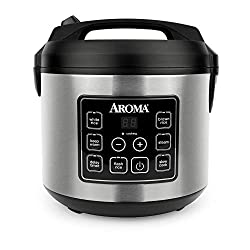 Aroma Houseware Digital Rice Cooker (ARC-150sb)