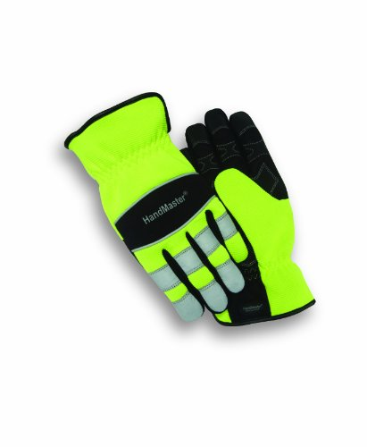 Magid PGP90T ProGrade Plus High Visibility Glove, Men's Large