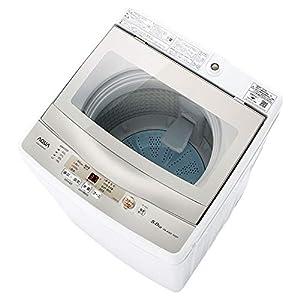 "AQW-GS50H-W(ホワイト) 全自動洗濯機 上開き 洗濯5kg"""